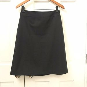 Banana Republic  A-Line Skirt Wool Blend